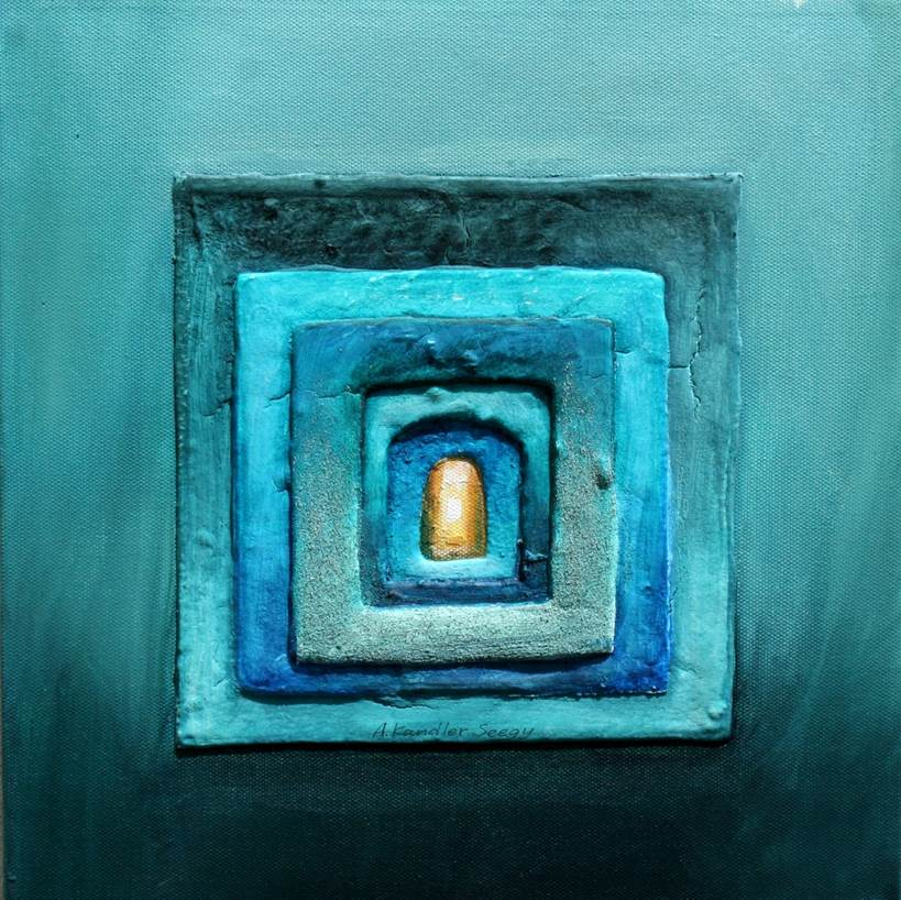 Zur Präsentation von Angelika Kandler Seegy: Farbe in der Malkunst