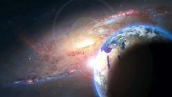 Die Weite des Weltalls