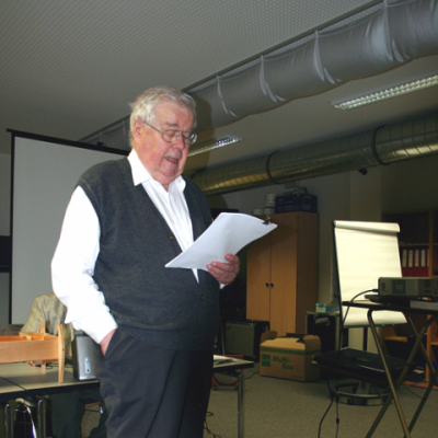 Hans G. Weidinger Vortrag Ganzheitliches Erleben mit Harmonik 2012