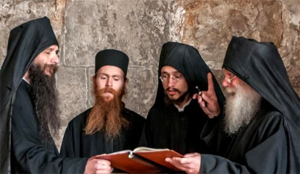 Der Chor der Mönche in Kloster Buchhagen