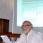 Peter M. Braun bei seinem Vortrag: Quo vadis musica? 2014