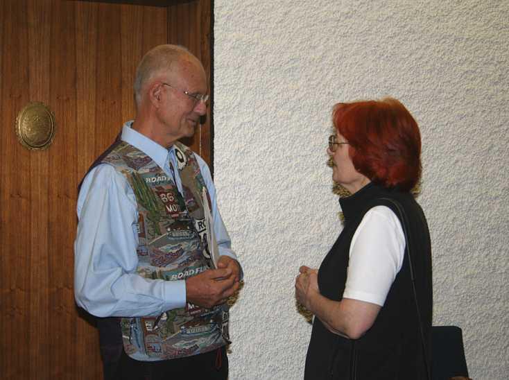 Reinhard Fuchs und Christine Baumgartner-Staritz im Gespräch, 2011