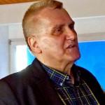Carl M. Hofbauer bei seinem Vortrag Harmonik im Fokus der Philosophie