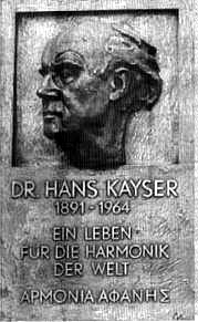 Gedenktafel Hans Kayser in Bad Buchau